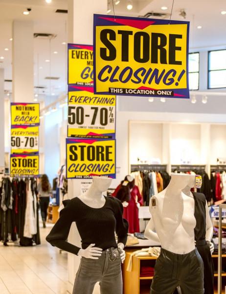 merchandising in retail signage