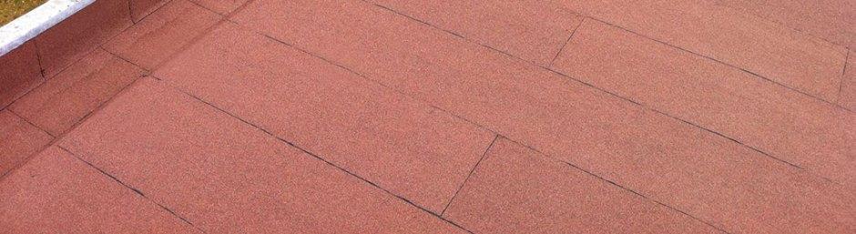 Reinforced bitumen roofing
