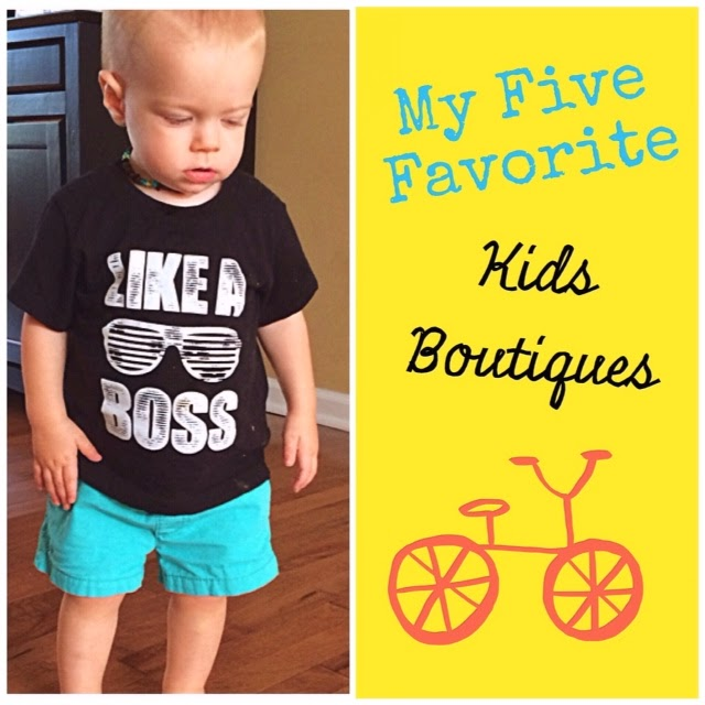 Top of the List Tuesday:  Best Kids Boutiques