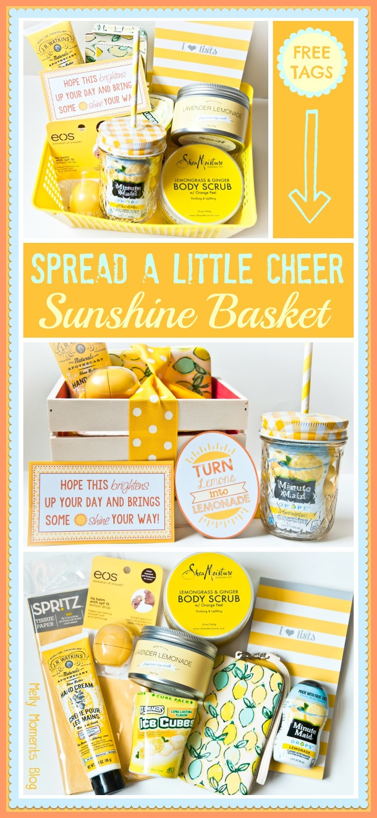 A cheer up sunshine basket if youve already subscribed go to your confirmation email to get more free printables solutioingenieria Images