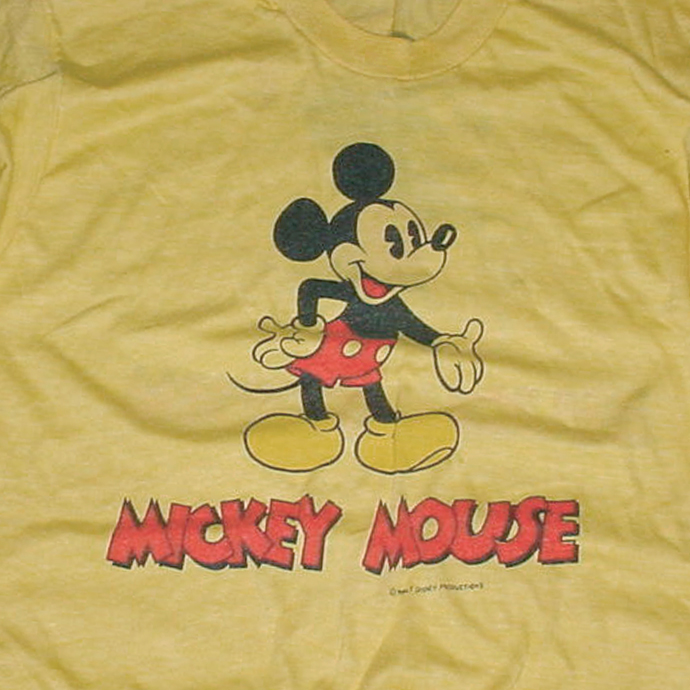 vintage mickey tee Full History of the Graphic T Shirt