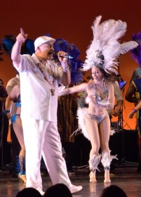 Frank Leto with Naomi Elizabeth Montoya.