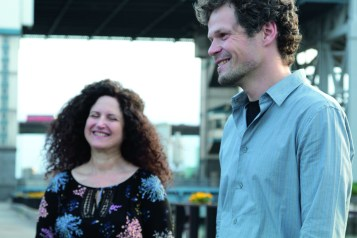 Carol Liebowitz and Nick Lyons. Photo © Stephan Schmidt..