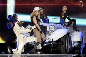 Le foto di Madonna durante lo Sticky and Sweet tour di Milano - 3