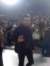 Ewan-McGregor al concerto degli U2 1
