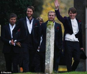 Mark Owen e gli altri take That 3