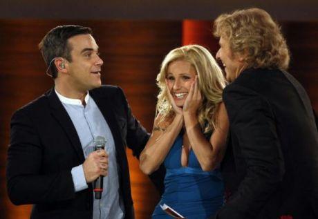 Robbie Williams e Michelle Hunziker1