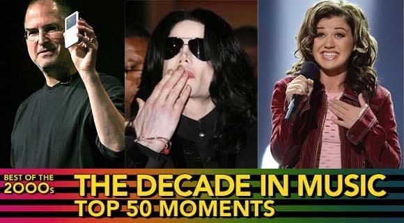 I migliori 50 momenti del decennio secondo Billboard