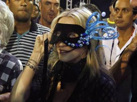 madonna in maschera