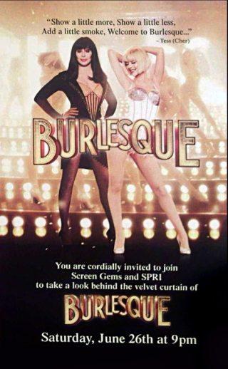 Burlesque - artwork