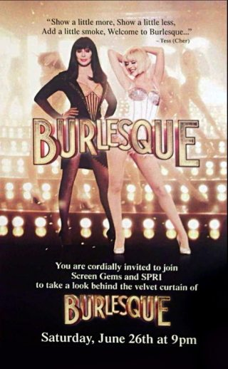 Burlesque - artwork