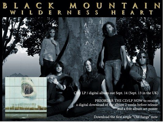"I Black Mountain tornano con ""Wilderness Heart"" e un tour anche in Italia"