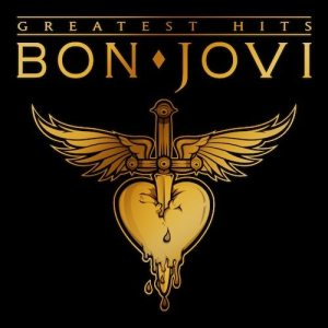 L'artwork del Greatest Hits dei Bon Jovi