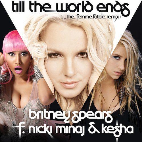 """Britney Spears, la versione remix di """"Till The World Ends"""""""