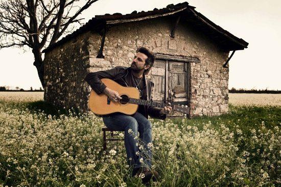 Omar Pedrini al concerto del Primo Maggio a Brescia