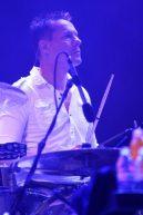 U2 - Larry Mullen al festival di Glastonbury 2011