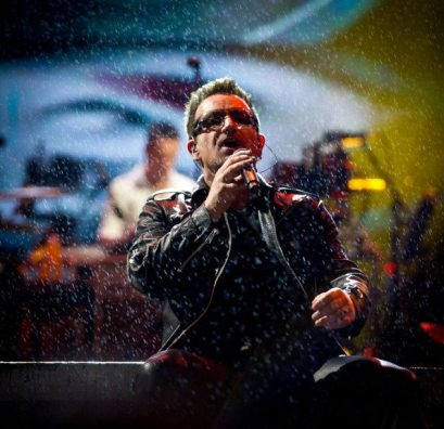 Bono - U2 at Glastonbury festival 2011