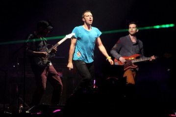Chis Martin, Johnny Buckland, Will Chapion and Guy Berryman