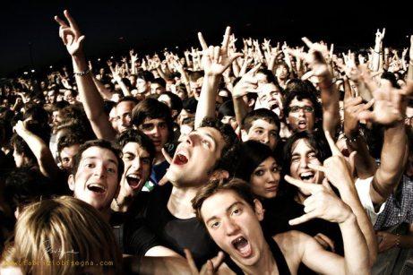 Fan dei Avenged Sevenfold al Rock in Roma