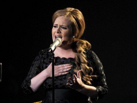 Performance di Adele