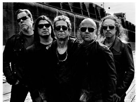 "Ascolta ""The View"", primo singolo da ""Lulu"" di Lou Reed e Metallica"