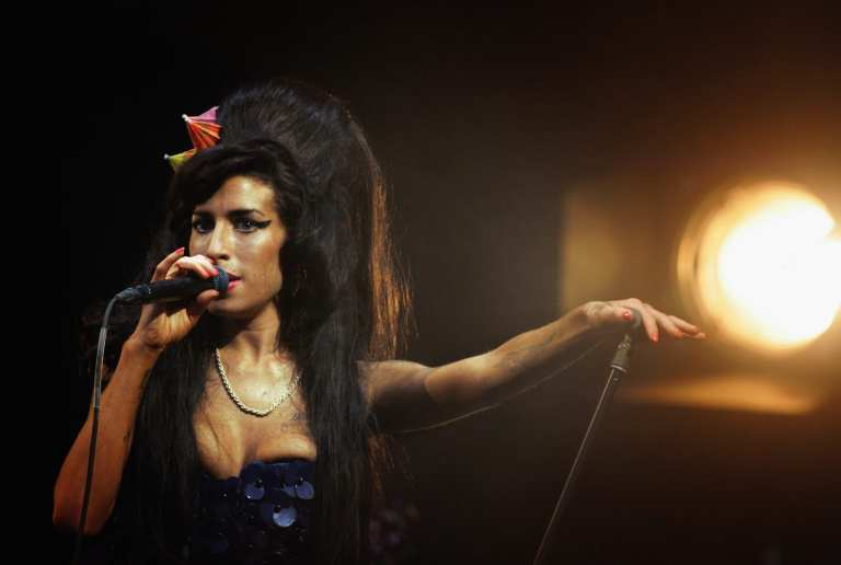"""A family portrait"", un'inedita Amy Winehouse in mostra a Londra"