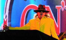 Axel Rose sul palco