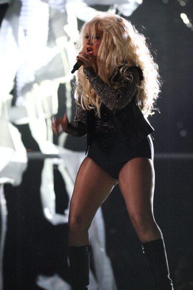 Christina Aguilera al Millenium Stadium | © Dave J Hogan/Getty Images