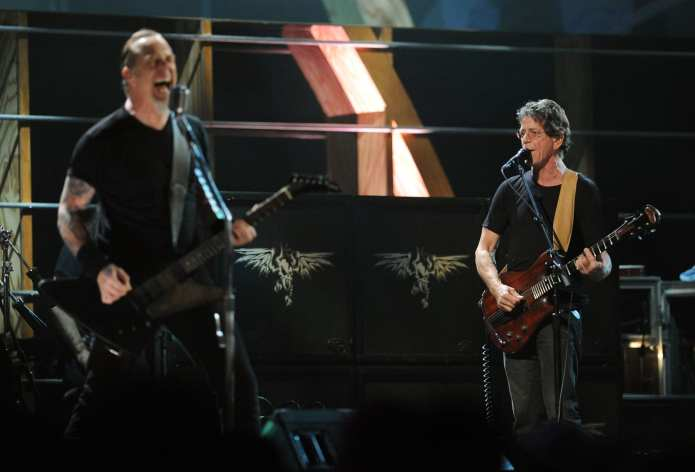 Lou Reed e Metallica ospiti da Fabio Fazio?