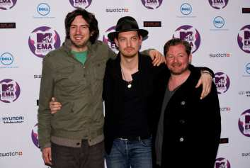 Gary Lightbody, Nathan Connolly e Tom Simpson | © Ian Gavan/Getty Images
