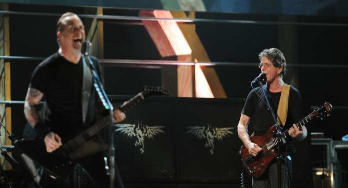 Metallica e Lou Reed da Fabio Fazio, video