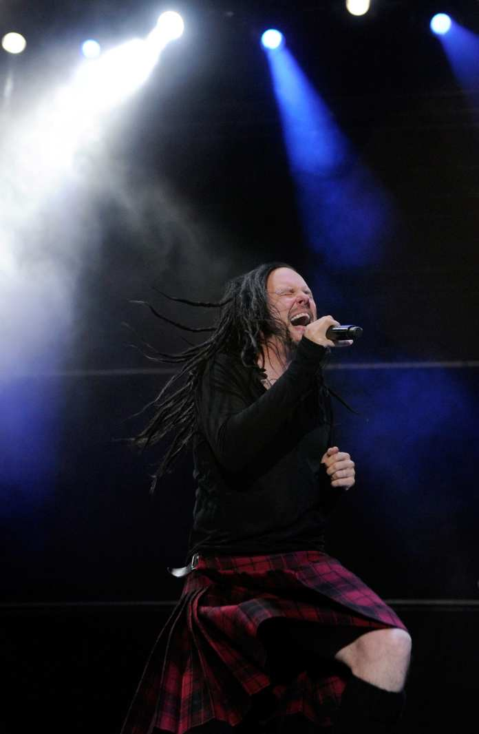 "Jonathan Davis: ""Korn pecora nera del metal"""