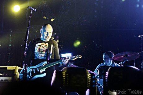 Billy Corgan e Mike Byrne   © Rachele Totaro