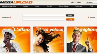 Screenshot Megaupload