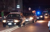 La polizia scorta la salma di Whitney Houston   © Dave Kotinsky/Getty Images
