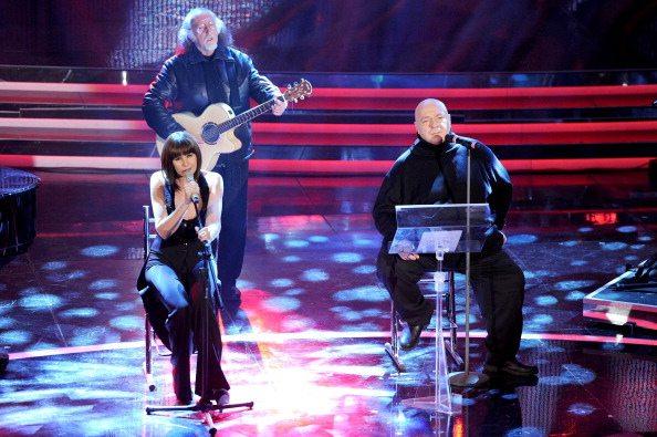 """Sanremo 2012: Matia Bazar recitano """"Sei tu"""" con Platinette"""