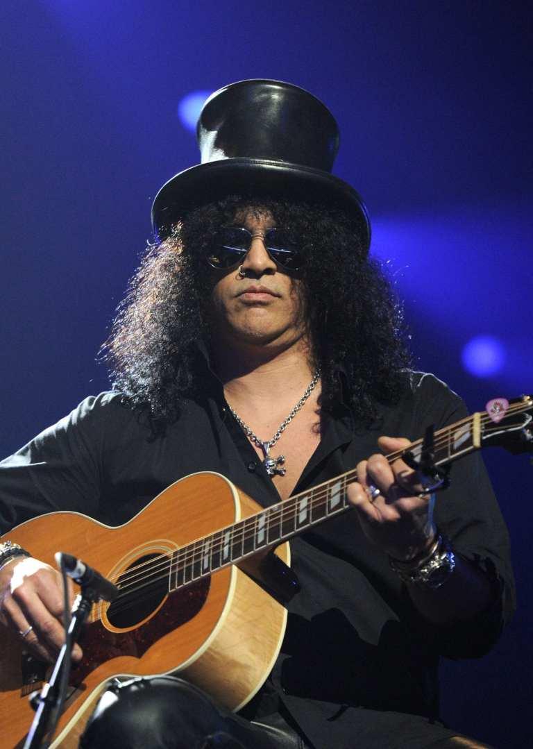 Guns N' Roses, Slash boccia la reunion