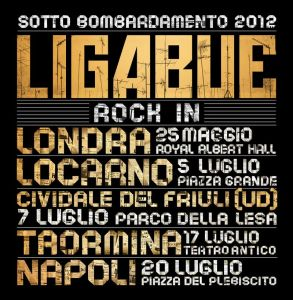 "Ligabue - ""Rock in 2012"""