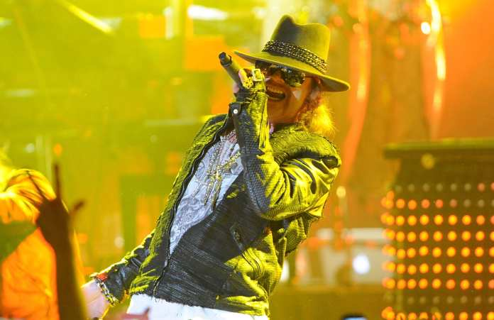Axl Rose rifiuta l' ingresso nella Rock And Roll Hall of Fame