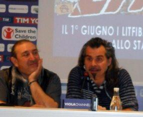 Ghigo Renzulli e Piero Pelù | © Melodicamente