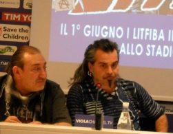 Renzulli e Pelù in conferenza | © Melodicamente