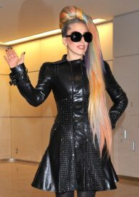 Lady Gaga arriva in Giappone