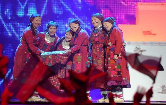 Buranovskiye Babushki   © VYACHESLAV OSELEDKO/AFP/GettyImages