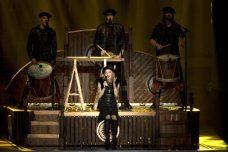 Uno dei momenti del live di Madonna | © JACK GUEZ/AFP/GettyImages