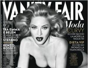 Copertina Vanity Fair - Madonna