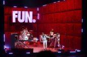 Fun. sul palco degli MTV Movie Awards 2012 | © Kevin Winter/Getty Images