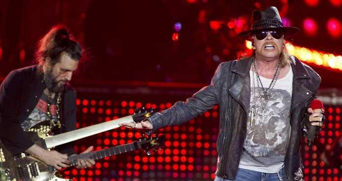 Gods of Metal 2012: 10mila fan in delirio per i Guns N' Roses