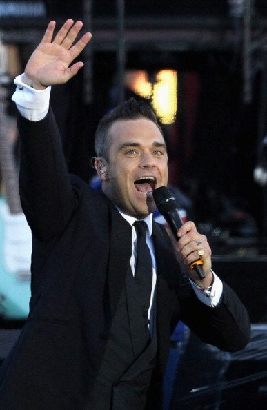 Robbie Williams - Concerto Londra 4 Giugno 2012 | © Dan Kitwood/Getty Images