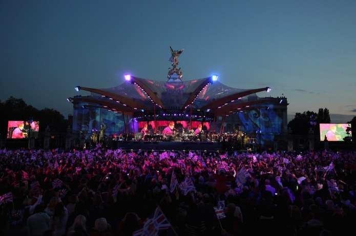 Concerto Buckingham Palace, tanta musica per la Regina