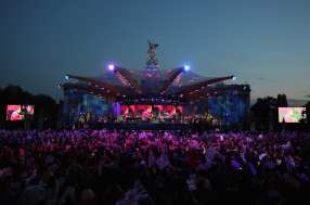 Il palco del concerto a Buckingham Palace | © Dan Kitwood/Getty Images